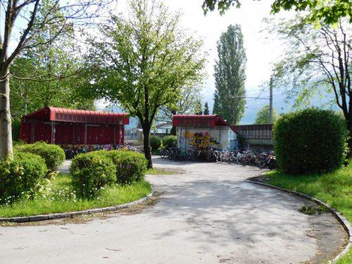 Der Bahnhofsvorplatz soll in den kommenden Jahren neu gestaltet werden.michael mäser
