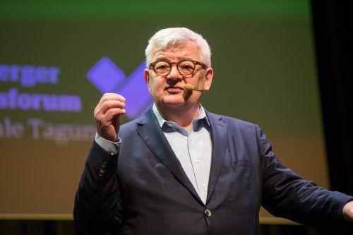 """Der ehemalige deutsche Vizekanzler warnt: """"Fakt ist, dass die Europäer digital keine große Rolle spielen. Wir dürfen aber nicht dauerhaft abgehängt werden."""""""