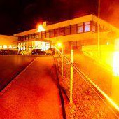 Auch die Krankenhäuser strahlen in Orange