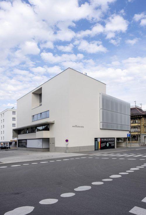 Der Innovations- und Startup-Hub hat im September seinen nach Wien zweiten Standort am Lindengrund in Dornbirn bezogen. Jetzt wird gefeiert.Fa/Werbach