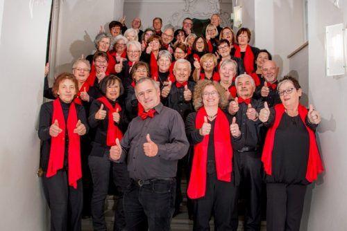 Der Liederkranz aus Tettnang singt in Hohenems. Veranstalter