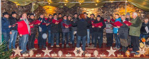 Der Männerchor Schlins-Röns lädt auch heuer wieder am ersten Adventsonntag, 1. Dezember, zum Burgadvent in der Ruine Jagdberg. Verein