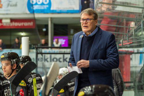 Der neue DEC-Trainer Kai Suikkanen will seinen Plan mit den Bulldogs konsequent durchziehen.VN-Stiplovsek