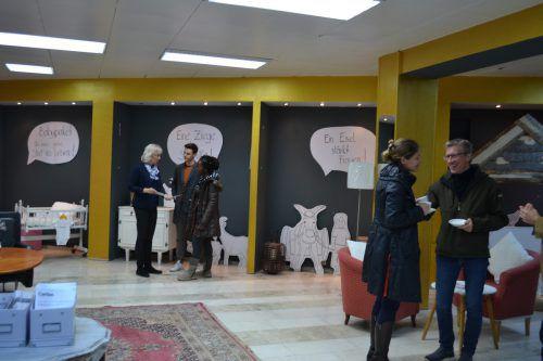 Der neue WirkRaum in der Dornbirner Bahnhofstraße bietet viel Platz zum Plaudern, sich informieren und Ideen austauschen.caritas