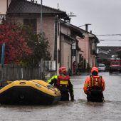 Erneut schwere Unwetter in Italien