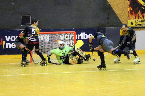 Der RHC Dornbirn tat sich gegen die Schweizer Gäste schwer, gewann am ende aber doch mit 5:4 nach Penaltyschießen. RHC