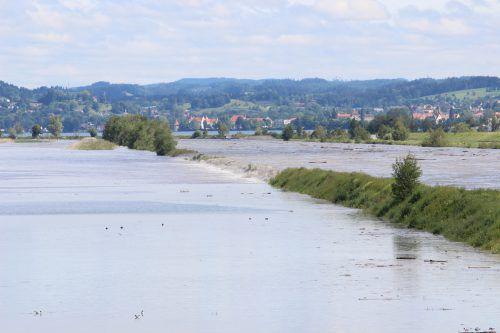 Der Rhein zeigt immer wieder sein Gefahrenpotenzial. Vlach