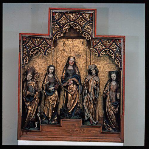 Der Röthner Altar (um 1520) befindet sich im Landesmuseum.