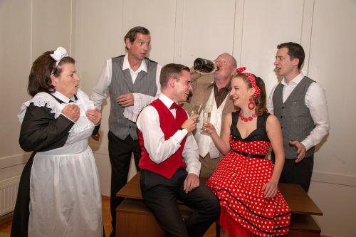 Der Spielkreis Götzis spielt ab Samstag eine unterhaltsame Komödie im Vereinshaussaal Ambach.Spielkreis götzis