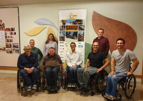 Der Vorstand des Rollstuhlclub Vorarlberg wurde bei der Jahreshauptversammlung in seinem Amt bestätigt. Mäser