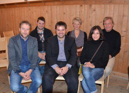 Der Vorstand von akKurat, der neue Verein zur Förderung der Bregenzerwälder Barockbaumeistergeschichte. MAM