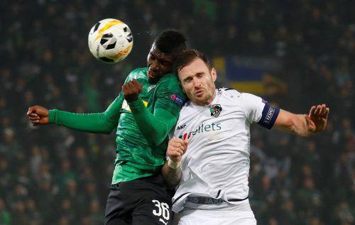 Der Wolfsberger AC zeigte trotz Ausscheidens aus der Europa League erfrischenden Fußball auf der internationalen Bühne.Reuters