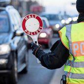 Auch Bayern verschärft Grenzkontrollen