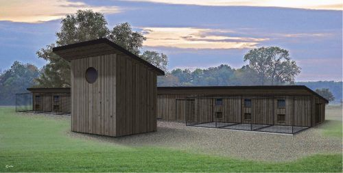 Die Artenschutzstation soll Platz für bis zu 1000 Wildtiere jährlich bieten. Wildtierhilfe