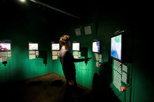 Die Ausstellung im Jüdischen Museum beschäftigt sich damit, wie mit den Spuren der Vergangenheit verantwortungsvoll umgegangen werden kann. VN/Paulitsch
