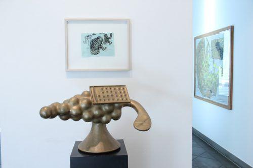 Die Ausstellung in Feldkirch erlaubt einen Blick in den hermetischen Kunstkosmos von Bruno Gironcoli. a. Grabher