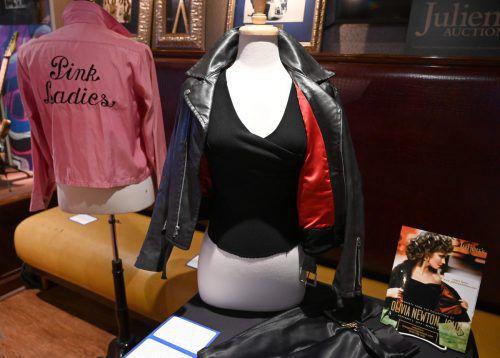 """Die berühmte Lederjacke aus """"Grease"""" hat nun einen neuen Besitzer. AFP"""