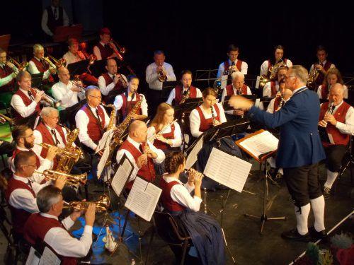 Die Bürgermusik spielt am Wochenende im Löwensaal auf. bet