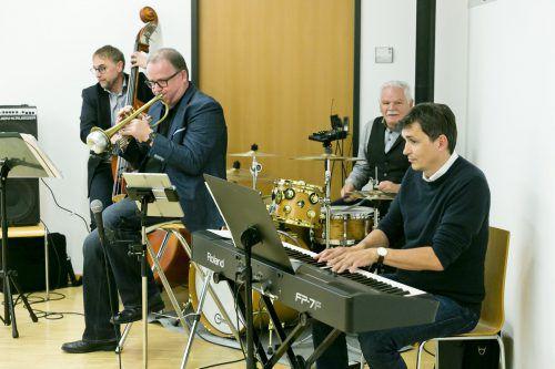 Die Dietmar Pfanner Combo sorgte für die musikalische Umrahmung.