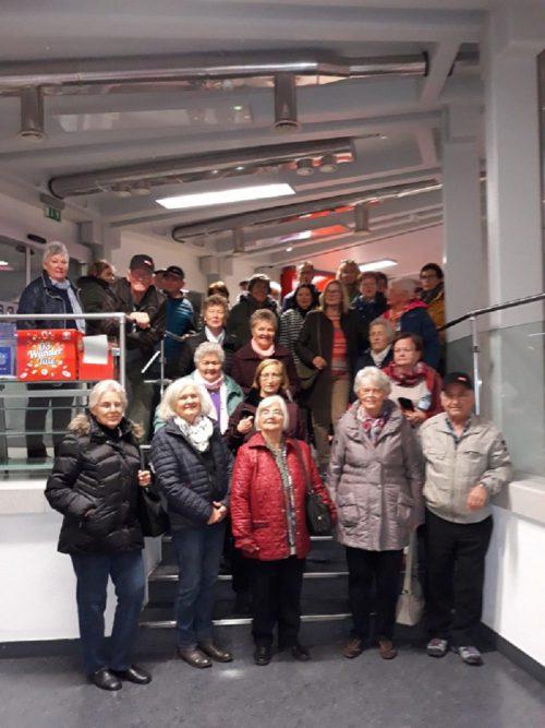 Die Harder Pensionisten zum Besuch im ORF-Landesstudio. pvö