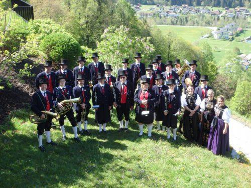 Die Harmoniemusik konzertiert am Samstag in Gantschier. HM SChruns