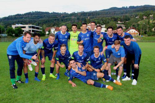 Die Kampfmannschaft des SV typico Lochau ist auch im Hinblick auf die intensive Nachwuchsarbeit das Aushängeschild des Vereins.  bms