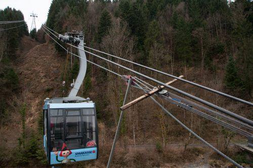 Die Karrenseilbahn hat kommende Woche einige Tage zu.Karrenseilbahn
