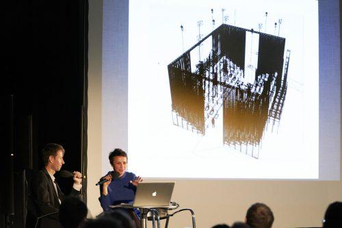 """Die Künstlerin Flaka Haliti wird eine eigens gebaute Orgel in ihr Bühnenbild für """"Wind"""" von Alexander Moosbrugger integrieren. BF/Köhler"""