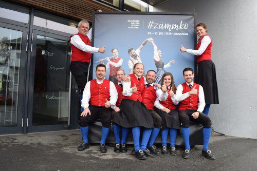 Die Lingenauer Musikanten und Musikantinnen stecken voll in den Vorbereitungen für das große Fest. mo