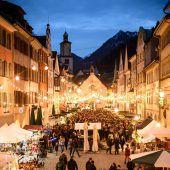 Der Blosengelmarkt läutet die Adventzeit in Feldkirch ein