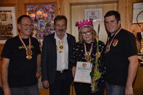Die Mitglieder der Brazer Zunft krönten Barbara Kienecker zur ersten Zunftmeisterin. Dob