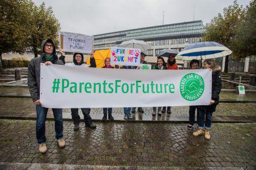 Die Parents for Future zeigen sich mit den Jugendlichen solidarisch. VN/Steurer
