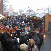 Bregenzer Adventdörfchen für ein paar Stunden