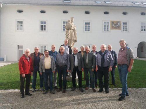 Die Sänger aus Vorarlberg genossen die Gastfreundschaft bei den Männerchorsingtagen in Ossiach.cth