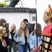 Dornbirner Schüler im Reich der Mitte