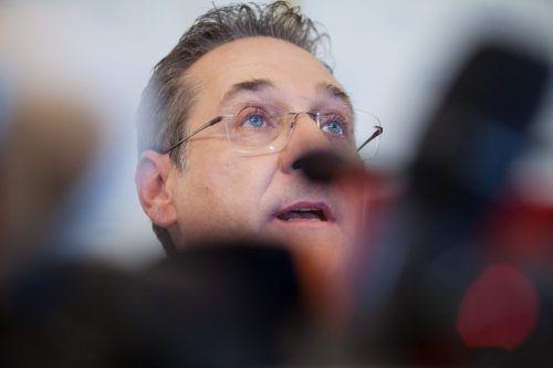 Die Staatsanwaltschaft wirft Strache vor, die FPÖ um Zehntausende Euro geprellt zu haben. Der Ex-Parteichef bestreitet das. AFP