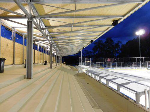 Die Stadt Hohenems investierte rund 2,4 Millionen Euro in das Stadion. Mäser