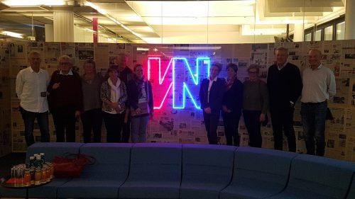 Der Besuch im Medienhaus war für alle Teilnehmer sehr interessant.bfg