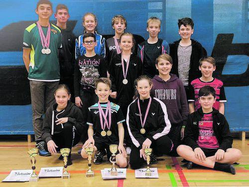 Die VBV-Equipe bei der Schülermeisterschaft in Judenburg.Verband