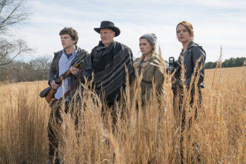 Die vier Zobmbiekiller verbreiten wieder Chaos. Sony Pictures