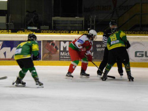 Die Wildcats sicherten sich drei Punkte gegen die Dragons aus Klagenfurt.mima