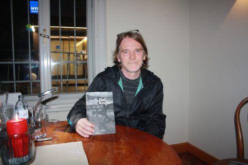 Dietmar Schlatter veröffentlichte seinen zweiten Roman. MAE