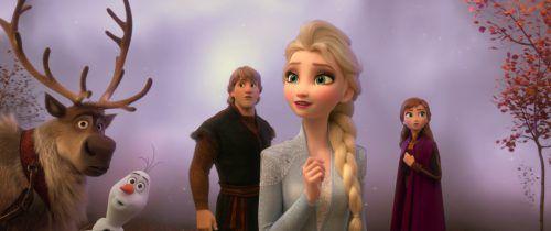 """Disney setzt das Abenteuer der Schwestern Anna und Elsa fort. Natürlich sind in """"Die Eiskönigin 2"""" auch Kristoff, Rentier Sven und Schneemann Olaf dabei. ap"""