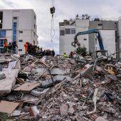 Hoffnung auf Überlebende nach Erdbeben in Albanien schwindet
