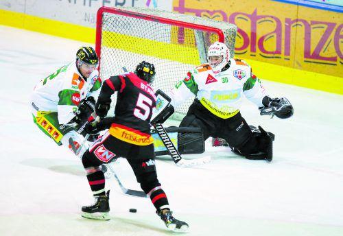 Dylan Stanley war mit zwei Toren der Feldkircher Matchwinner beim 3:2-Erfolg nach Penaltys im Derby gegen LustenauHartinger
