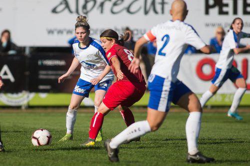 Eileen Campbell war die Matchwinnerin im ÖFB-Cup für Vorderland. steurer