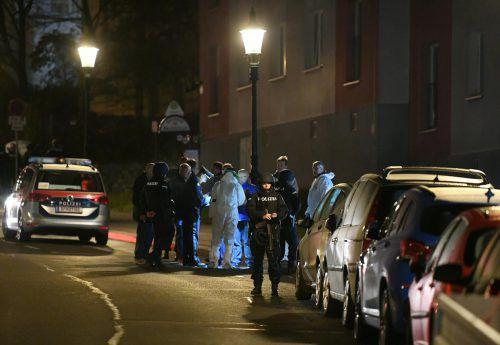 Ein Mann ist im Innenhof eines Wohnhauses in Wien-Döbling erschossen worden. APA