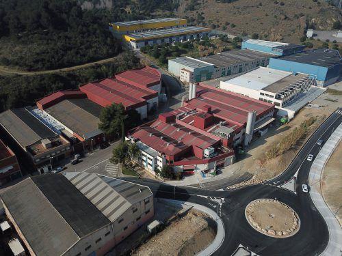 Eine der gekauften Firmen: Suminco S.A. im spanischen Montcada. Alpla