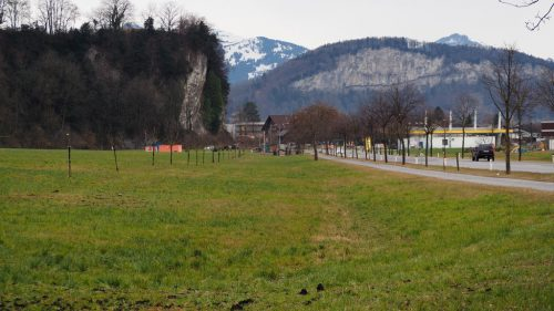 Einer der zehn angedachten möglichen Standorte für ein gemeinsames ASZ AmKumma ist das Gebiet Götzis Kobel.