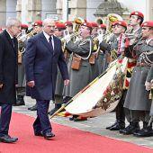 Lukaschenkos brisanter Besuch in Wien